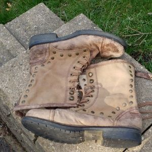 Roxy Distressed Boots size 7.5